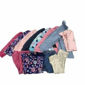 Baby girls Play clothes lot 24 months
